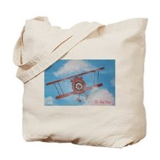 Hand Painted Fly Away Home Tote Bag