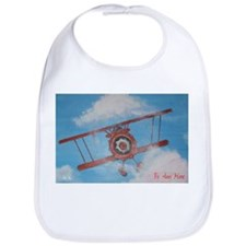 Hand Painted Fly Away Home Bib