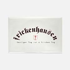 frickenhausen today rectangle magnet