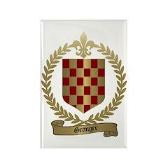 GRANGER Family Crest Rectangle Magnet (100 pack)
