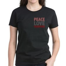 Peace Love Vampires Twilight Tee