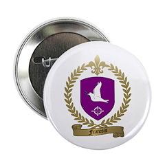 FRANCOIS Family Crest Button