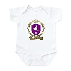 FRANCOIS Family Crest Infant Creeper