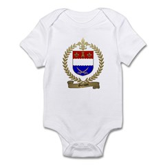 GRENON Family Crest Infant Creeper