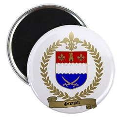 """GRENON Family Crest 2.25"""" Magnet (100 pack)"""