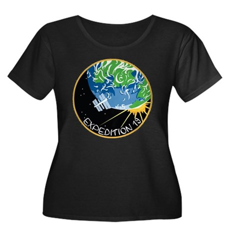 Expedition 19 Women's + Size Scoop Neck Dark Tee