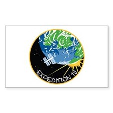 Expedition 19 Rectangle Decal