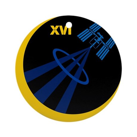 Expedition 16 Ornament (Round)