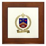 GRONDIN Family Crest Framed Tile