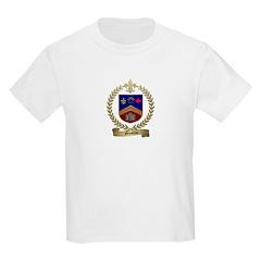 GRONDIN Family Crest Kids T-Shirt