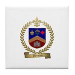 GRONDIN Family Crest Tile Coaster