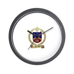 GRONDIN Family Crest Wall Clock