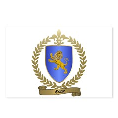 GUAY Family Crest Postcards (Package of 8)
