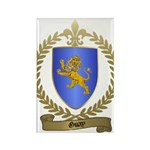 GUAY Family Crest Rectangle Magnet