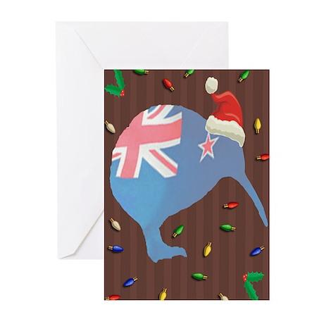 Christmas Kiwi Greeting Cards (Pk of 10)