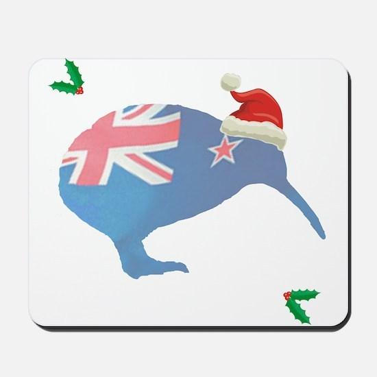 Christmas Kiwi Mousepad