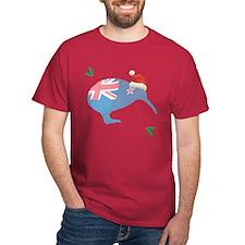 Christmas Kiwi T-Shirt
