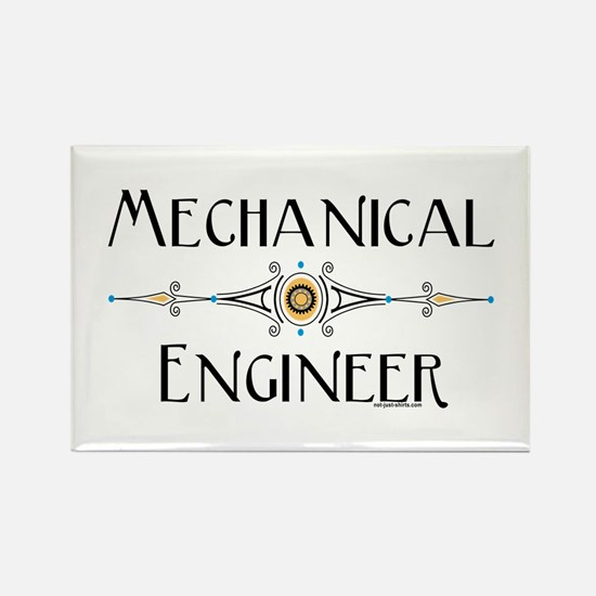 Mechanical Engineer Rectangle Magnet