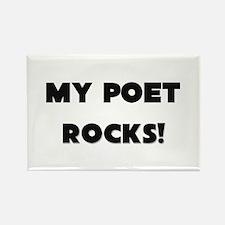 MY Poet ROCKS! Rectangle Magnet