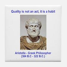 Aristotle Quality Tile Coaster