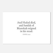 GENESIS  36:36 Postcards (Package of 8)