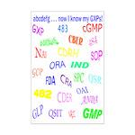GXP Acronym Mini Poster Print