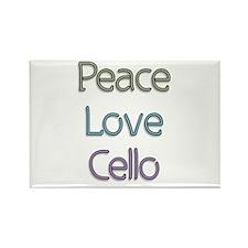 Cellist Gift Rectangle Magnet
