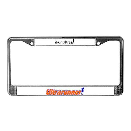iRunUltras License Plate Frame