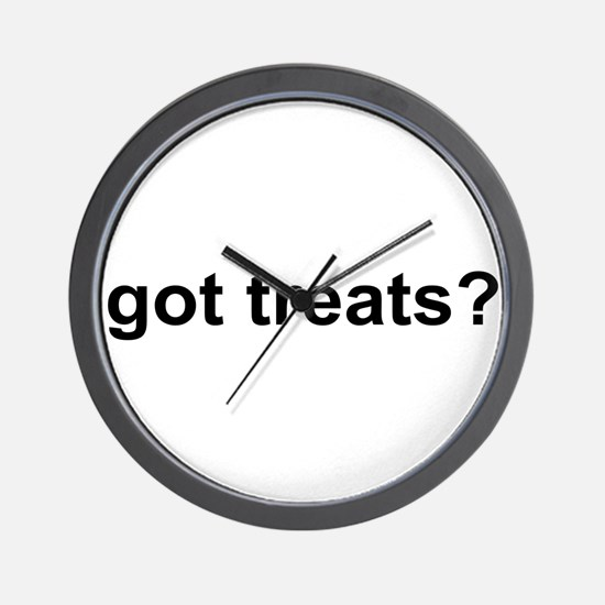 Got Treats Wall Clock