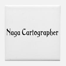 Naga Cartographer Tile Coaster