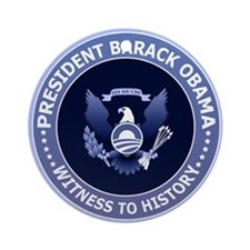 Obama Victory Seal Christmas Ornament