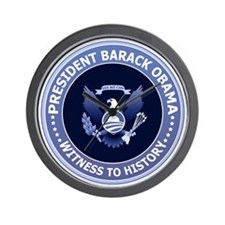 Obama Victory Seal Wall Clock