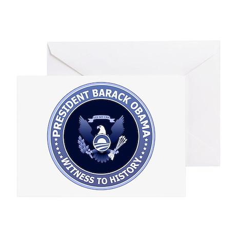 Obama Victory Seal Greeting Card