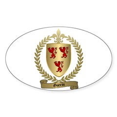 GUERIN Family Oval Decal