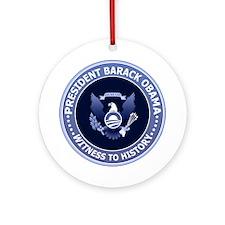 Obama Victory Seal Christmas Ornament