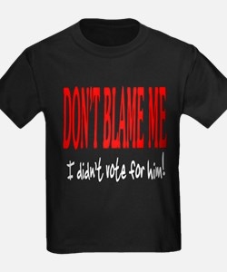 Don't Blame Me T