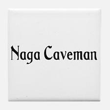 Naga Caveman Tile Coaster