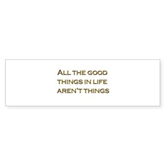 Things Bumper Sticker (50 pk)