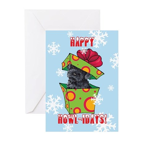 Holiday Kerry Blue Greeting Cards (Pk of 10)