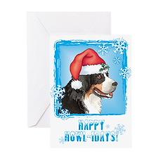 Holiday Berner Greeting Card