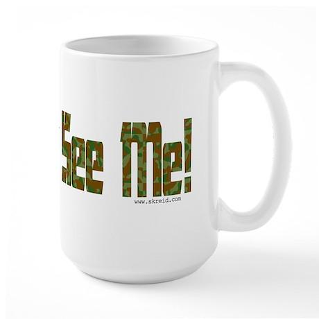 Camouflaged Large Mug