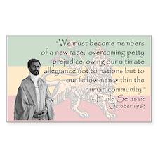 Haile Selassie Decal