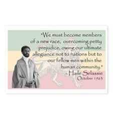 Haile Selassie Postcards (Package of 8)