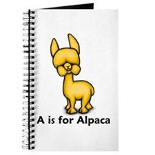 A is for Alpaca Journal