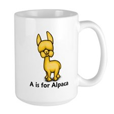 A is for Alpaca Mug