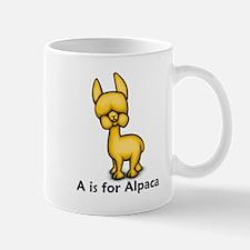 A is for Alpaca Mug