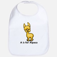 A is for Alpaca Bib