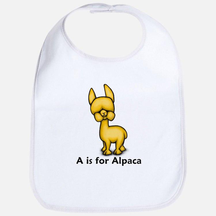 A is for Alpaca Bib