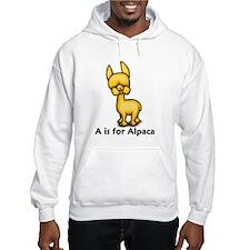 A is for Alpaca Hoodie