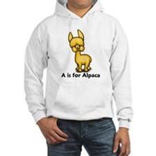 A is for Alpaca Jumper Hoody
